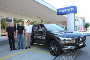 Volvo XC60 mit Mancino, Lüscher und Hürlimann